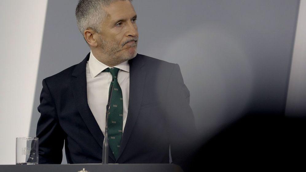 Foto: Fernando Grande-Marlaska, ministro del Interior. (EFE)