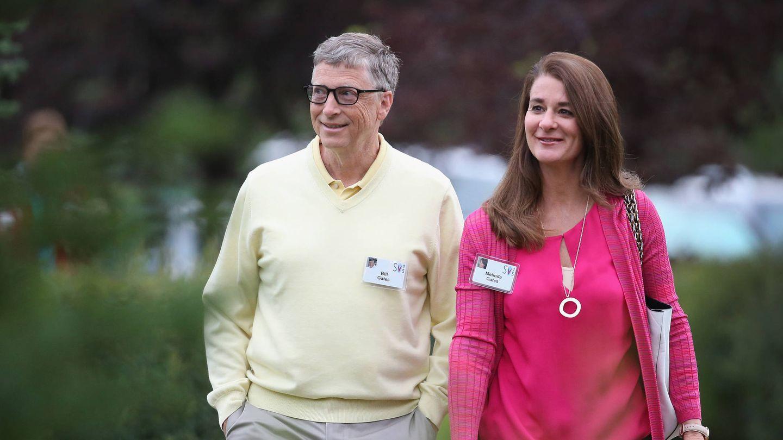 Bill y Melinda Gates, en su época de casados. (Getty)