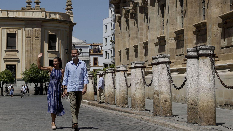 Los Reyes, en Andalucía. (EFE)