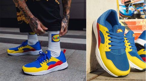 Fiebre por las zapatillas de colores de Lidl: de costar 12 euros a especular con ellas en eBay