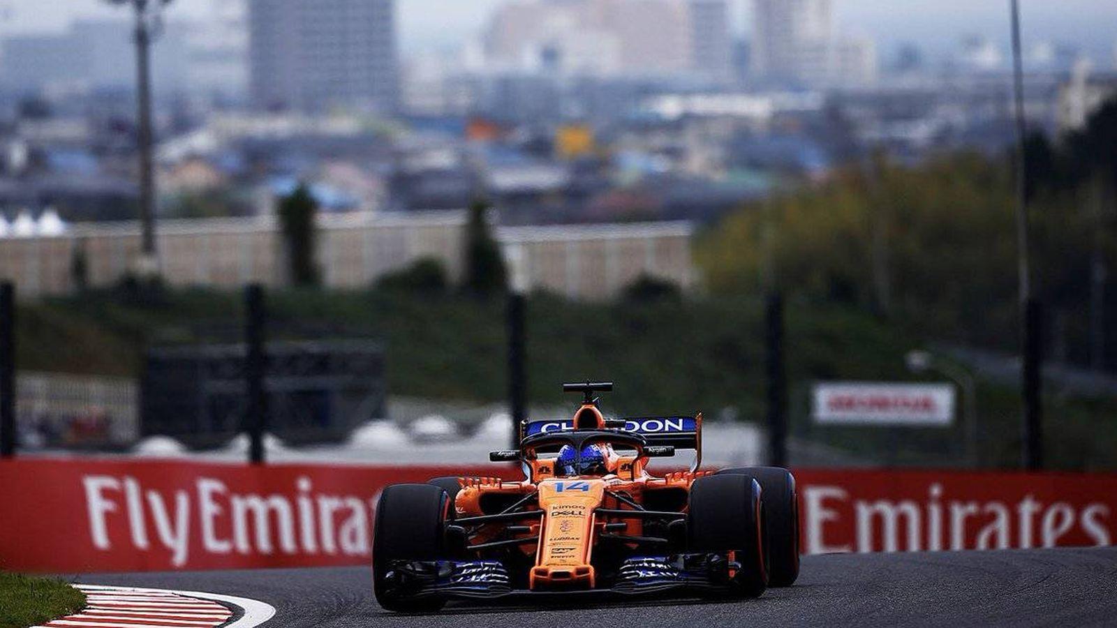 Foto: Fin de semana desastroso hasta el momento para los dos monoplazas de McLaren, también en los entrenamientos clasificatorios. (McLaren)