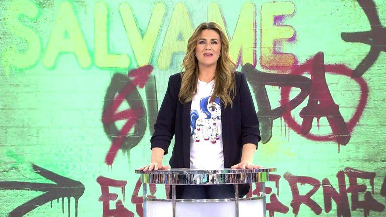 La presentadora Carlota Corredera. (Mediaset)