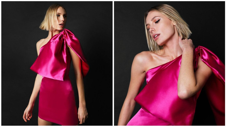 El modelo Karina de Victoria Colección con otro color. (Cortesía)