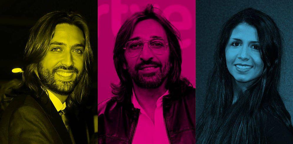 Foto: Juan Carmona, Antonio Carmona y Sara Verdasco en un fotomontaje de Vanitatis.