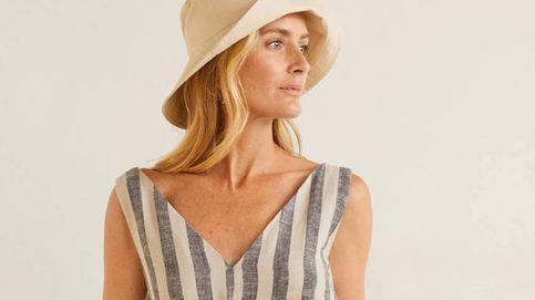 Mango Outlet tiene un vestido de rayas perfecto para perder una talla este verano