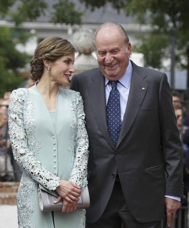 Foto:  El Rey Juan Carlos y la Reina Letizia. (Gtres)