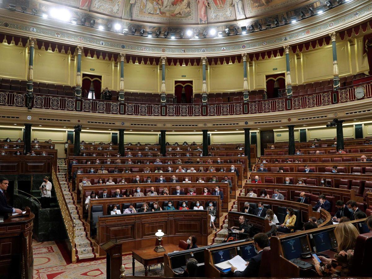 Foto: Sánchez comparece ante el pleno del congreso para informar del último consejo europeo