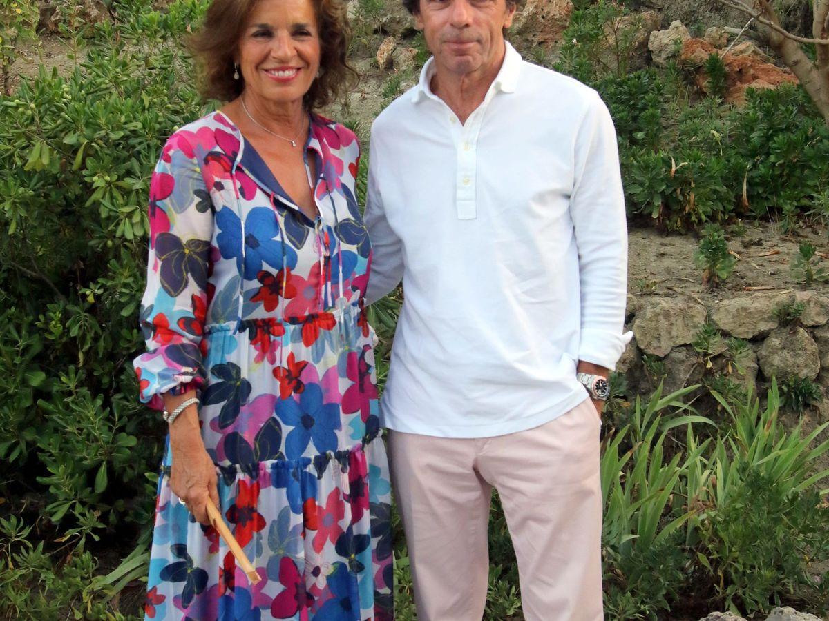 Foto: José María Aznar y Ana Botella, en Marbella en una imagen de archivo. (Cordon Press)