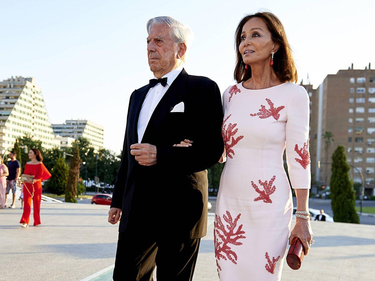 Foto: Mario Vargas Llosa e Isabel Preysler, en una imagen de archivo. (Getty)