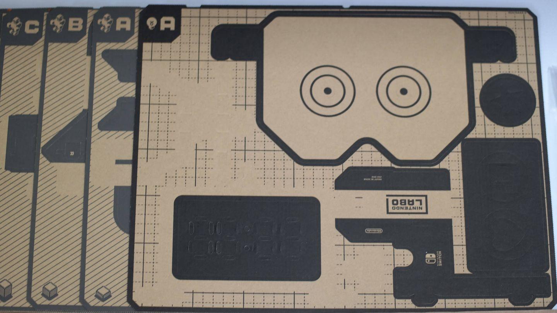 Los vídeojuegos de Labo son carton y ya está. No hace falta ni pegamento. (M. Mcloughlin)