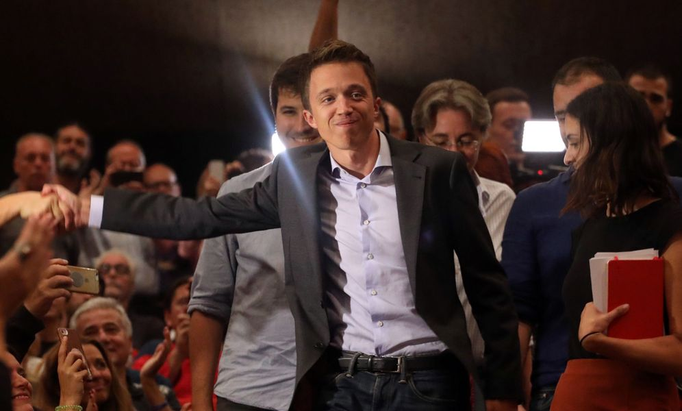 Foto: Íñigo Errejón presenta Más País. (Reuters)