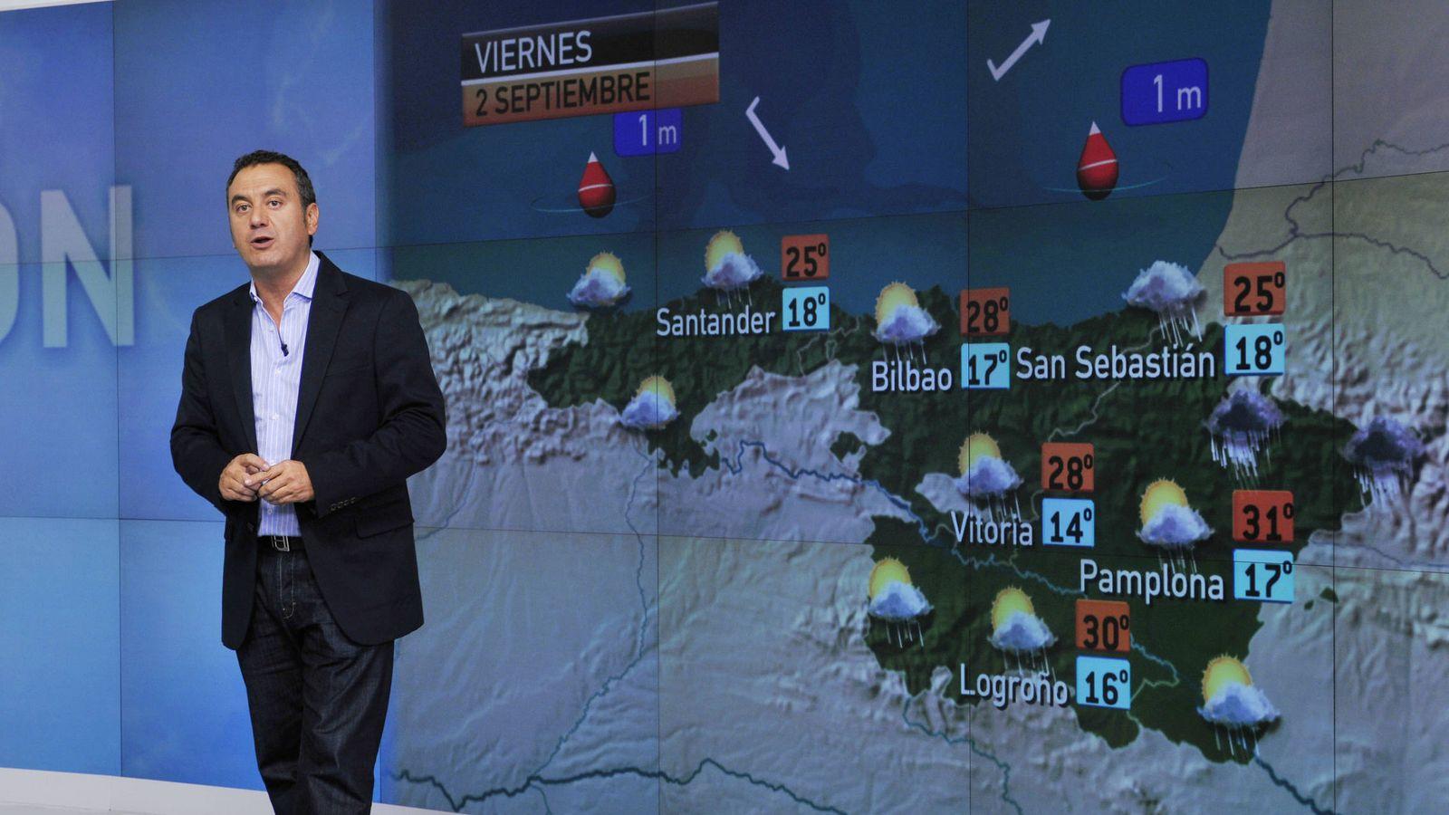 Foto: Roberto Brasero, el hombre del tiempo de Antena 3. (Atresmedia)