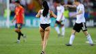 La espontánea en ropa interior del España - Alemania de la final de la Euro Sub 21