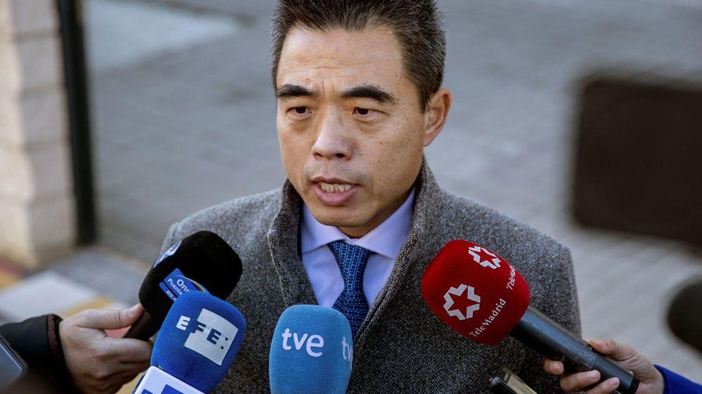 Foto: El ministro consejero de la embajada de China en España, Yao Fei. (EFE)