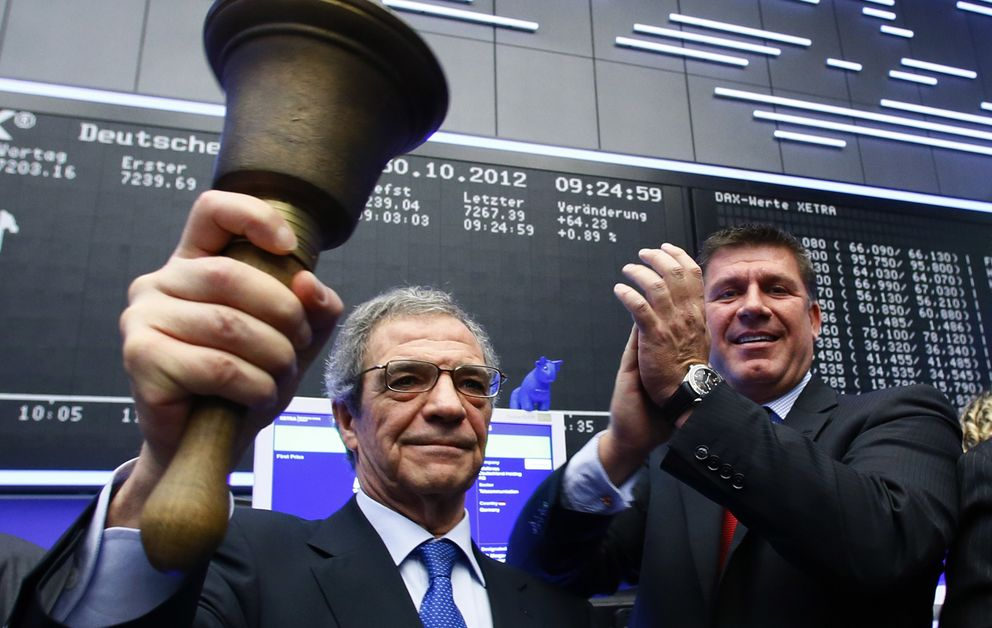 Foto: César Alierta (Fotografía: Reuters).