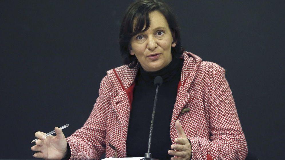 Foto: Carolina Bescansa analiza los resultados de las elecciones en Andalucía. (EFE)