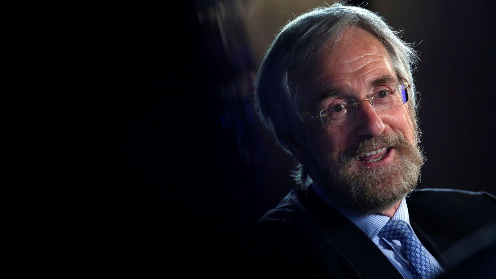 Foto: Peter Praet, miembro del comité ejecutivo del BCE, en su comparecencia de este miércoles en Madrid. (Reuters)