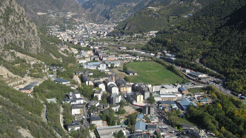 Vista general de Andorra