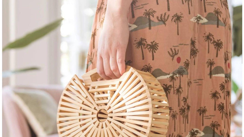 Nos encantan los bolsos de Maisons du Monde. (Cortesía)