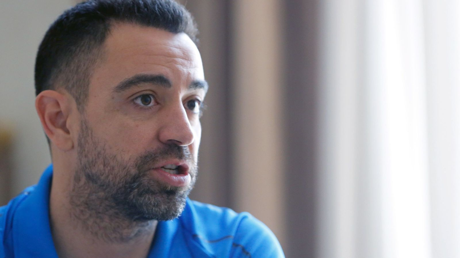 Foto: Xavi Hernández espera volver a Barcelona algún día como entrenador. (EFE)