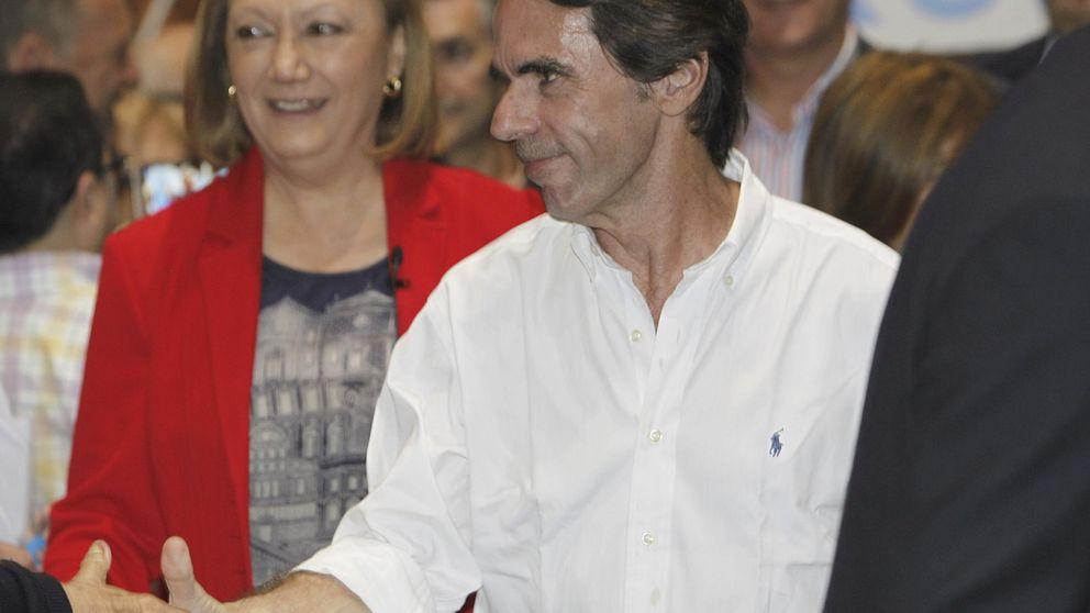 Aznar irrumpe con una llamada al PP a reconciliarse con las clases medias
