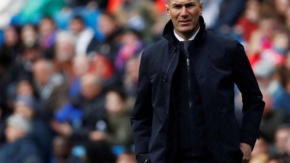 Foto: Zidane en el Santiago Bernabéu. (Reuters)