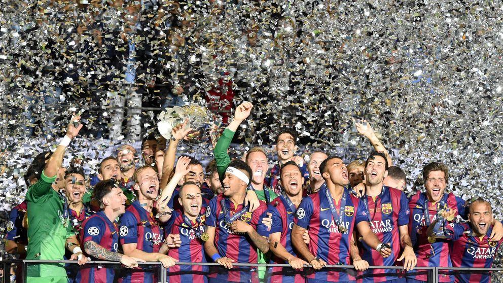 El Barça consigue su Champions... y ya tiene más títulos en color que el Madrid