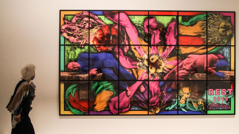 Obra de Cindy sherman expuesta en París: 'Rest 2019' (EFE)