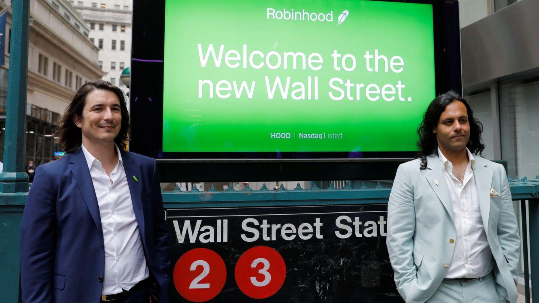 Robinhood debuta en Wall Street con una gran volatilidad y tendencia a la baja