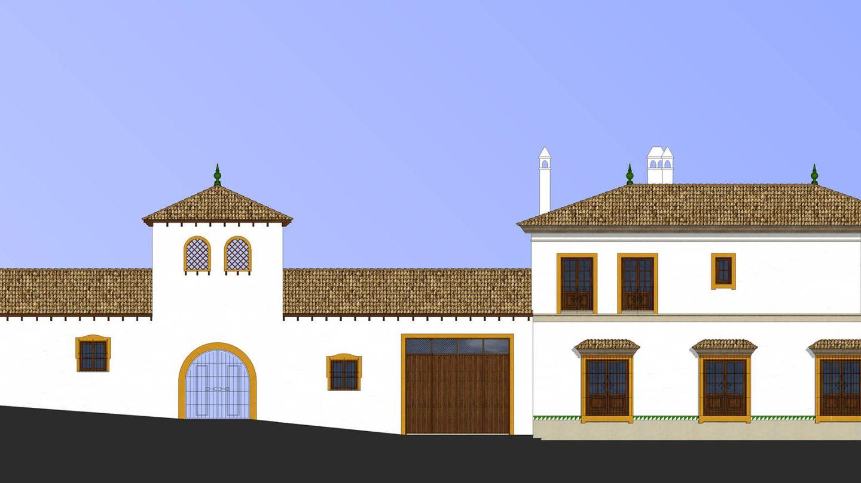 Planos de Finca Cetrina. (Cortesía de Díaz y Sanjuan)