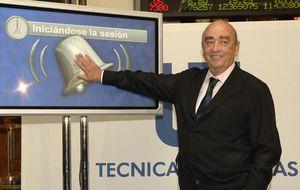 Técnicas Reunidas supera la barrera de los 45 euros por primera vez desde 2011