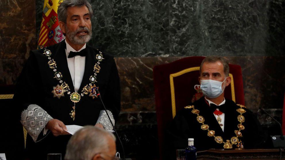 Los jueces exigen al Gobierno que garantice la asistencia del Rey en el acto en Barcelona