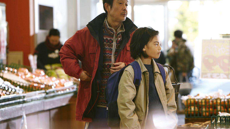 Lily Franky y Jyo Kairi, en 'Un asunto de familia'. (Golem)