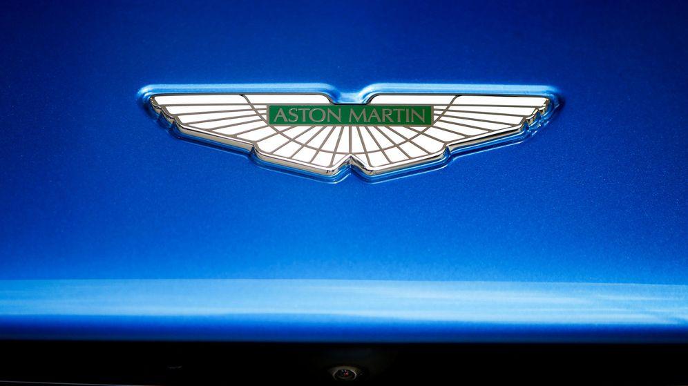 Foto: Logotipo de Aston Martin (Reuters)