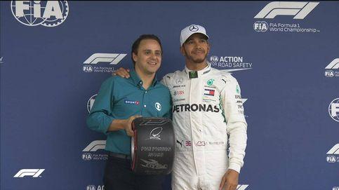 Fórmula 1: Pole de Hamilton en Brasil con Alonso y Sainz eliminados en la Q1