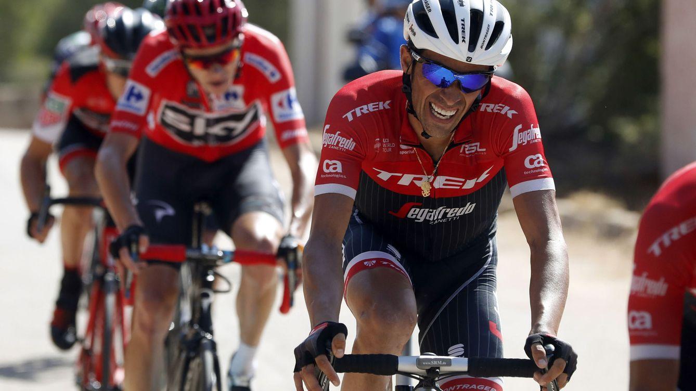 Alberto Contador está decidido a reventar la Vuelta para subir al podio