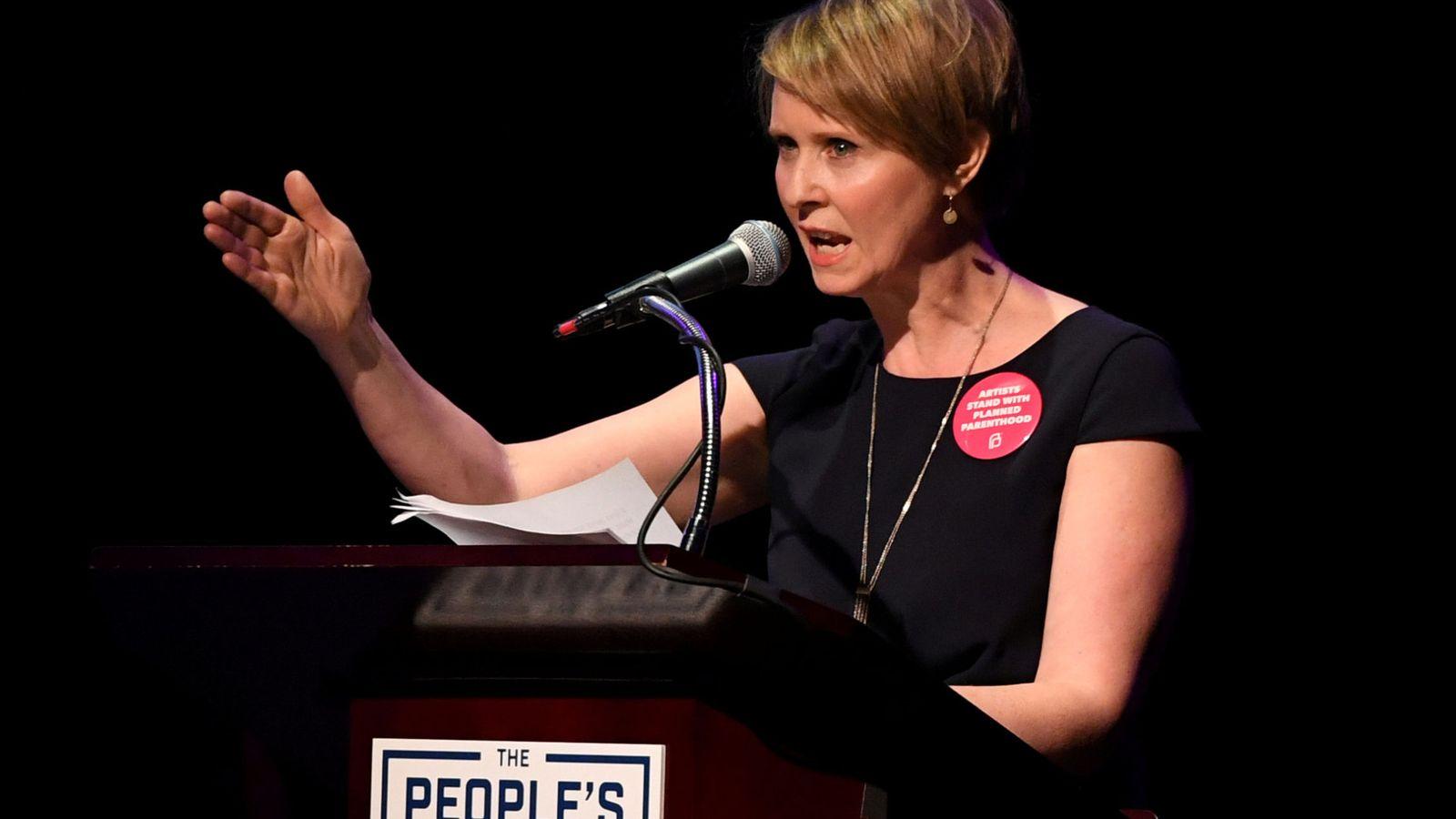 Foto: Cynthia Nixon. (Reuters)