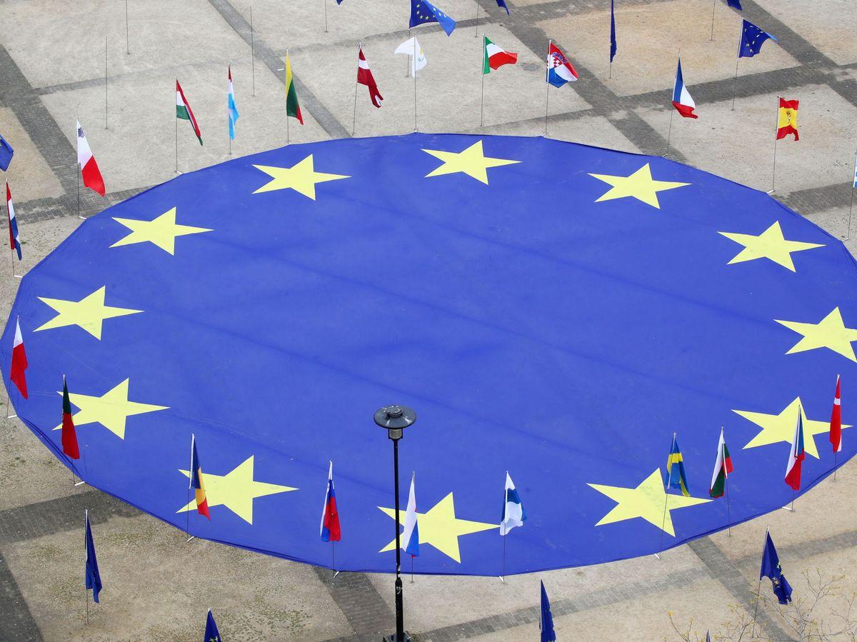 Foto: Banderas europeas. (Reuters)