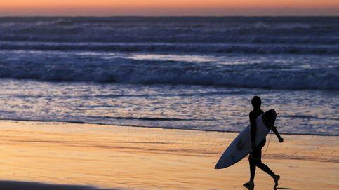 Atardecer en una playa de Sidney