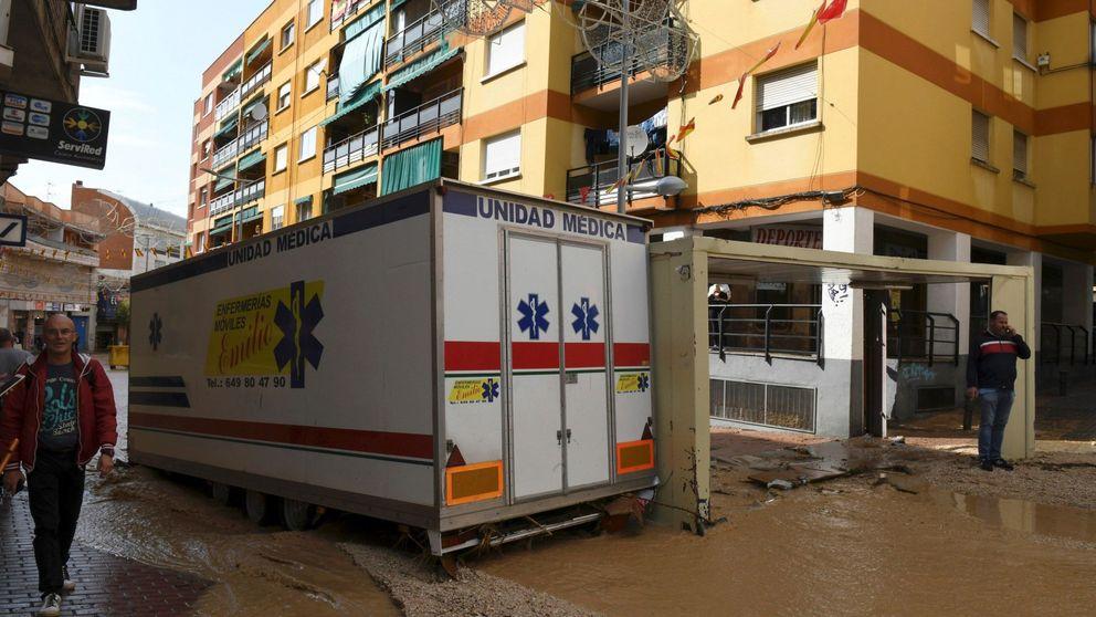 La gota fría llega a Madrid: la lluvia inunda de nuevo Arganda del Rey y corta el metro