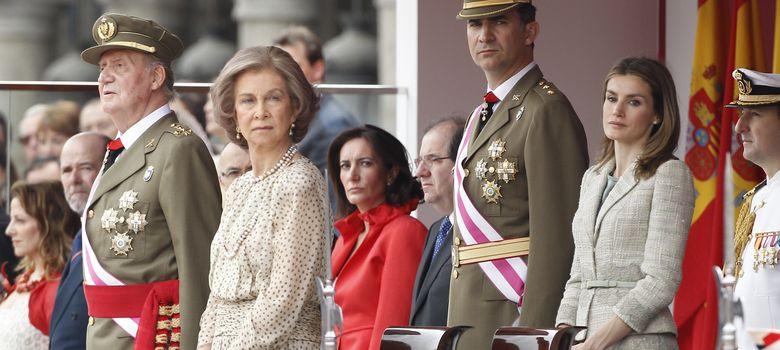 Foto: Una foto de archivo de la Familia Real (I.C)