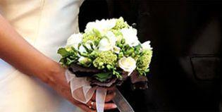 Foto: Nuria Fergó lució el ramo de novia más bonito de las últimas bodas veraniegas