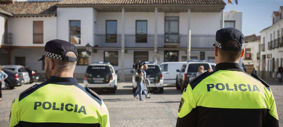 Foto: Registros en el marco de la Operación Púnica (Efe)