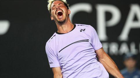 El tenista que revoluciona el Open de Australia tras bajarse del andamio