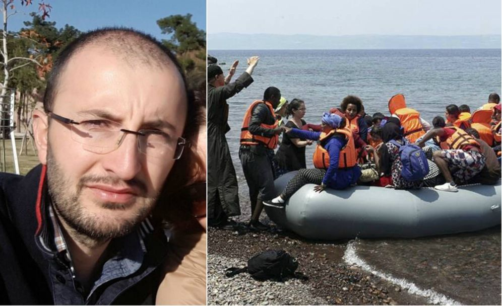 Foto: El exdirector de la revista política 'Nokta', Cevheri Güven, quien huyó a Grecia tras ser condenado.