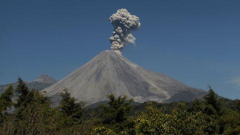 Actividad del volcán de Colima