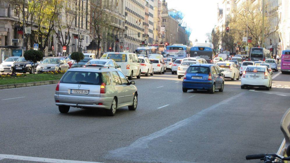 Foto: La madrileña calle de Alcalá
