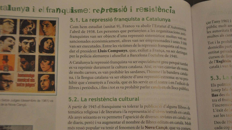 Otro extracto del manual de Historia de 4º de ESO.