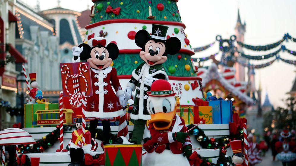 Foto: Navidad en Disneyland París. (Reuters)