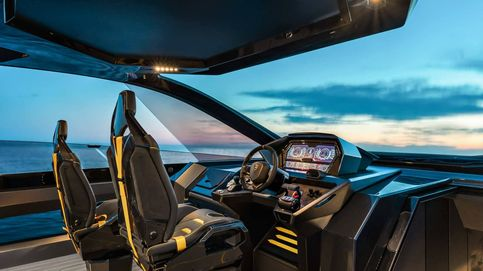 Un yate deportivo de 4000 caballos inspirado en la marca Lamborghini